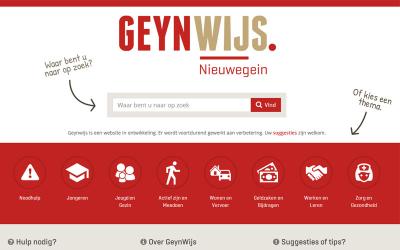 Geynwijs, Sociaal Platform gemeente Nieuwegein