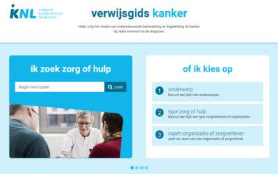 Gelanceerd: Verwijsgidskanker.nl